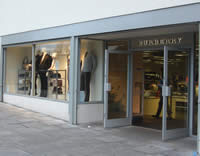 Burberry Factory store in Hackney, East London