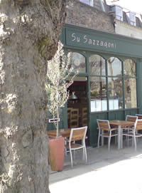 Charming, traditional Sardinian Trattoria  - this is a classic neighbourhood Italian serving truly excellent food.