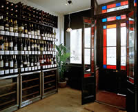 Wines, beers and spirits, daily wine sampling, regular wine tasting events