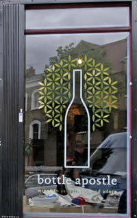 Bottle Apostle wine shop – fine wines East London